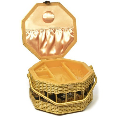 Аксессуары Hand Crafted Basket Шкатулка (фото, вид 1)
