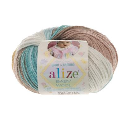 Пряжа Alize Baby Wool Batik 6320