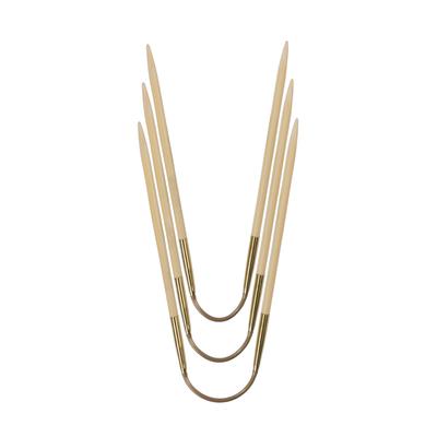 Спицы Addi чулочные гибкие CraSyTrio бамбуковые 2.75 мм / 24 см (фото)