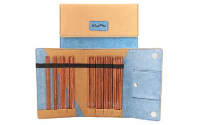 Набор Knit Pro Набор чулочных спиц 20 см Ginger (2,5 мм, 3 мм, 3,5 мм, 4 мм, 4,5 мм, 5 мм, 5,5 мм, 6 мм), дерево / пластик, 8 видов спиц