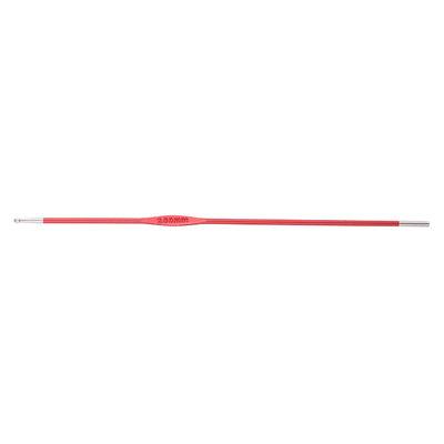 Крючок Knit Pro для вязания 'Zing' 2 мм, алюминий, коралловый