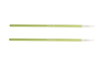 Спицы Knit Pro съемные Zing 3,5 мм для длины тросика 28-126 см, алюминий, хризолитовый (зеленый) 2шт
