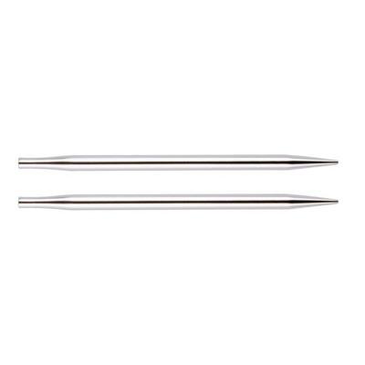 """Спицы Knit Pro съемные """"Nova Metal"""" 15 мм для длины тросика 28-126 см, никелированная латунь"""