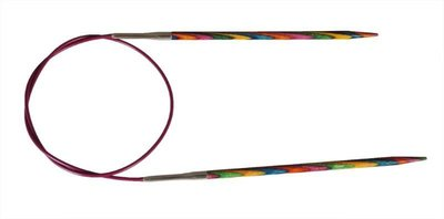 """Спицы Knit Pro круговые """"Symfonie"""" 3,25мм/25см, дерево, многоцветный"""