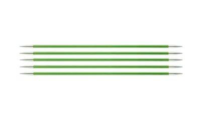 """Спицы Knit Pro чулочные """"Zing"""" 3,5мм/20см, алюминий, 5шт в упаковке"""