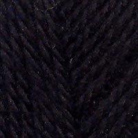 Пряжа Троицкая Новозеландская (100% шерсть) 10х100г/250м цв.0140 черный