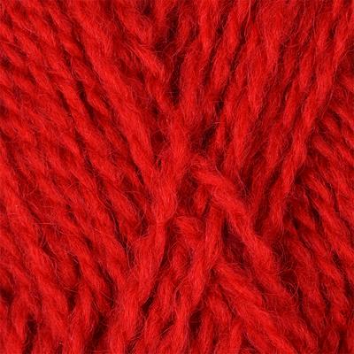 Пряжа Троицкая Подмосковная SUPERFINE (50% шерсть, 50% акрил) 5х100г/460м цв.0042 красный
