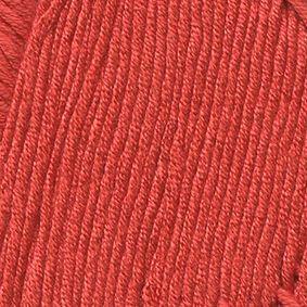 Пряжа Троицкая Сакура (100% вискоза) 5х100г/180м цв.0975 ярк.коралл