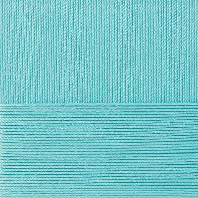 Пряжа Пехорка Классический хлопок (100% мерсеризованный хлопок) 5х100г/250м цв.223 св.бирюза