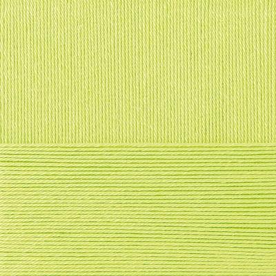Пряжа Пехорка Классический хлопок (100% мерсеризованный хлопок) 5х100г/250м цв.483 незрелый лимон