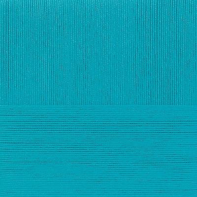Пряжа Пехорка Лаконичная (50% хлопок, 50% акрил) 5х100г/212м цв.045 т.бирюза