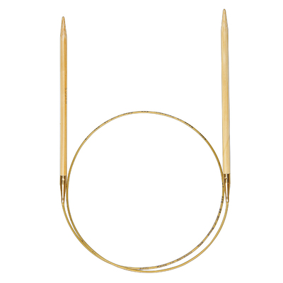 Спицы Addi Бамбук, круговые, №6,5, 50 см