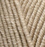 Пряжа Alize Lana Gold Plus (49% шерсть, 51% акрил) 5х100г/140м цв.005 бежевый