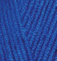 Пряжа Alize Lana Gold Plus (49% шерсть, 51% акрил) 5х100г/140м цв.141 василек