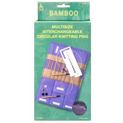 Спицы Pony Универсальные набор подарочный из бамбука