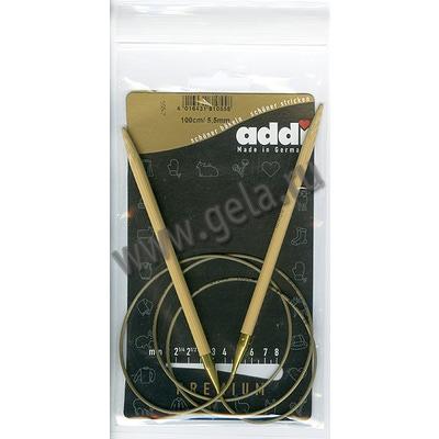 Спицы Addi Круговые бамбуковые 5.5 мм / 100 см