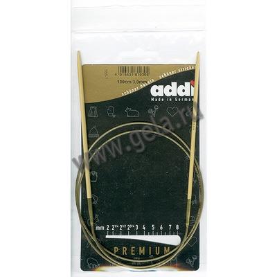 Спицы Addi Круговые бамбуковые 3 мм / 100 см