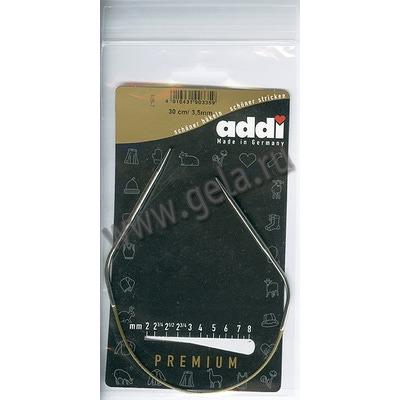 Спицы Addi Круговые супергладкие 3.5 мм / 30 см