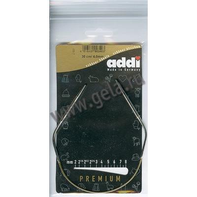 Спицы Addi Круговые супергладкие 4 мм / 30 см