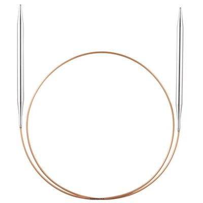 Спицы Addi Круговые супергладкие экстрадлинные никелевые 2.5 мм / 200 см