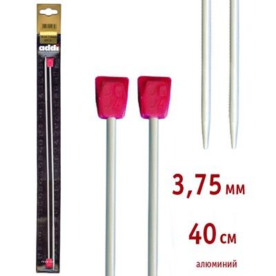 Спицы Addi Прямые алюминиевые 3.75 мм / 40 см