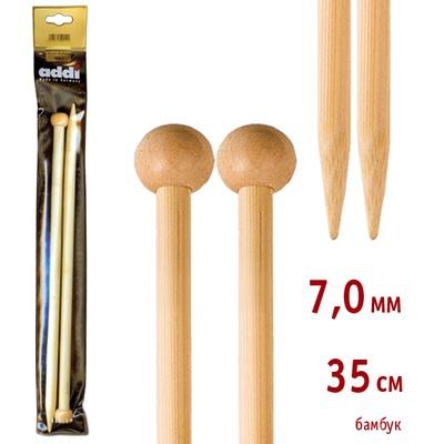 Спицы Addi Прямые бамбуковые 7 мм / 35 см