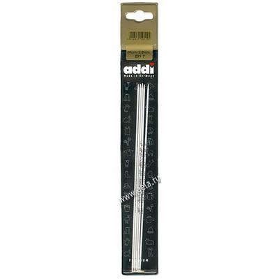 Спицы Addi Чулочные алюминиевые 2 мм / 20 см