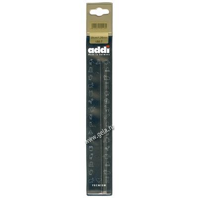 Спицы Addi Чулочные стальные 1.25 мм / 20 см