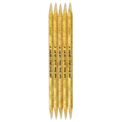 Спицы Addi Чулочные пластиковые 15 мм / 25 см