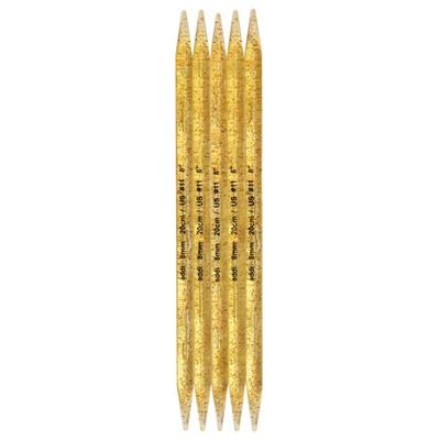 Спицы Addi Чулочные пластиковые 20 мм / 25 см