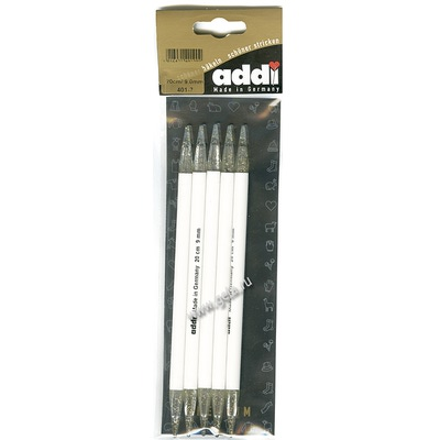 Спицы Addi Чулочные пластиковые 9 мм / 25 см