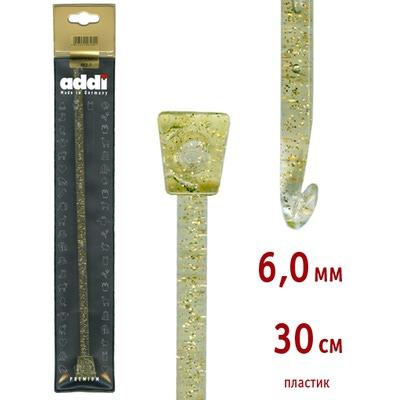 Крючок Addi Тунисский пластиковый 6 мм / 30 см