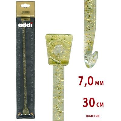 Крючок Addi Тунисский пластиковый 7 мм / 30 см
