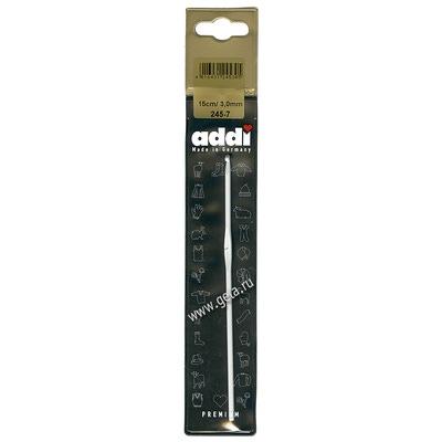 Крючок Addi Вязальный алюминиевый 3 мм / 15 см