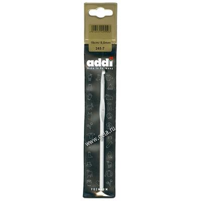 Крючок Addi Вязальный алюминиевый 5 мм / 15 см