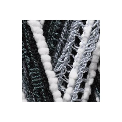 Пряжа Alize Dantela 50733 черно-серый