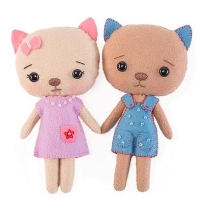 Кукла Тутти Пара кошечек
