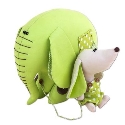 Игрушка Miadolla Слон и Моська (фото)