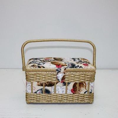 Аксессуары Hand Crafted Basket Шкатулка большая прямоугольная