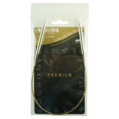 Спицы Addi Круговые супергладкие никелевые 6.5 мм / 40 см