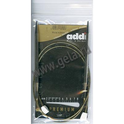 Спицы Addi Спицы с фиксаторами на лесках 6 мм / 50 см