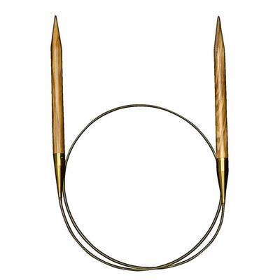 Спицы Addi Круговые из оливкового дерева 6 мм / 60 см