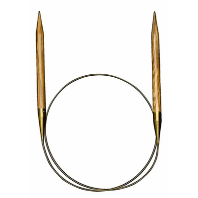 Спицы Addi Круговые из оливкового дерева 10 мм / 80 см