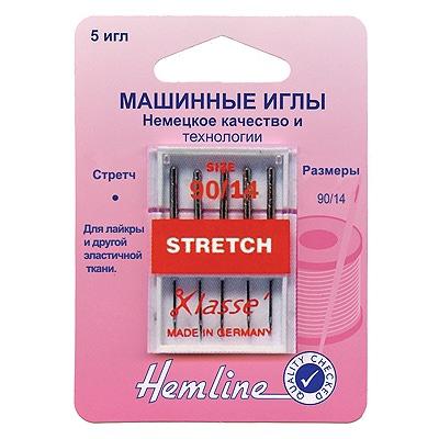 Иглы Hemline Для бытовых швейных машин стрейч
