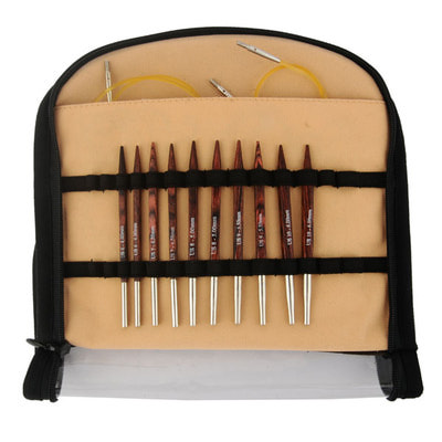 "Спицы Knit Pro Набор ""Special Interchangeable Needle Set"" съемных спиц ""Cubics"""