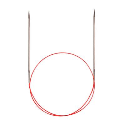 Спицы Addi Круговые с удлиненным кончиком металлические 4 мм / 40 см