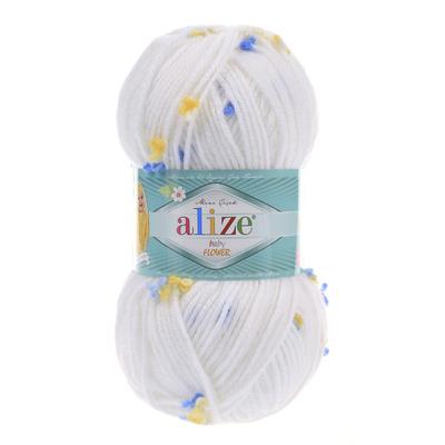 Пряжа Alize Baby Flower 5430
