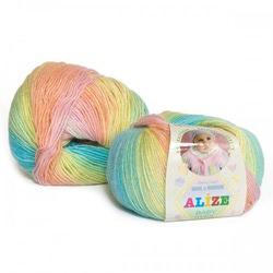 Пряжа Alize Baby Wool Batik 3563