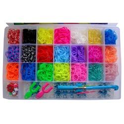 Большой набор для плетения Rainbow loom на 4200