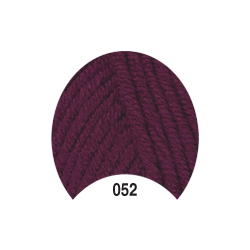 Пряжа Madame Tricote Paris Tango 052 цв. Фиолетовый